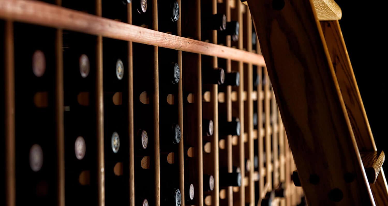 napa photography wine library